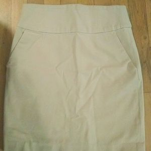 Banana Republic 2P Tan Skirt *MUST GO BY 7/29*